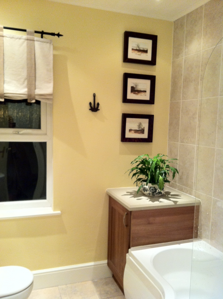 A bathroom update on a budget - after image