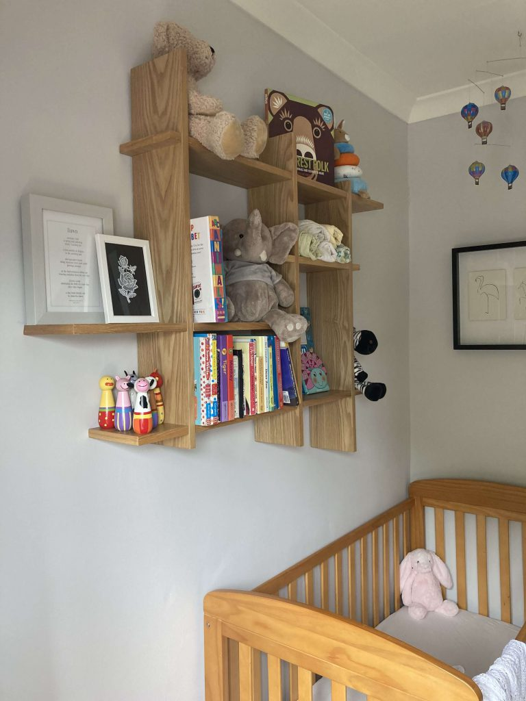 A Neutral Nursery for Sleeping Babies - after image