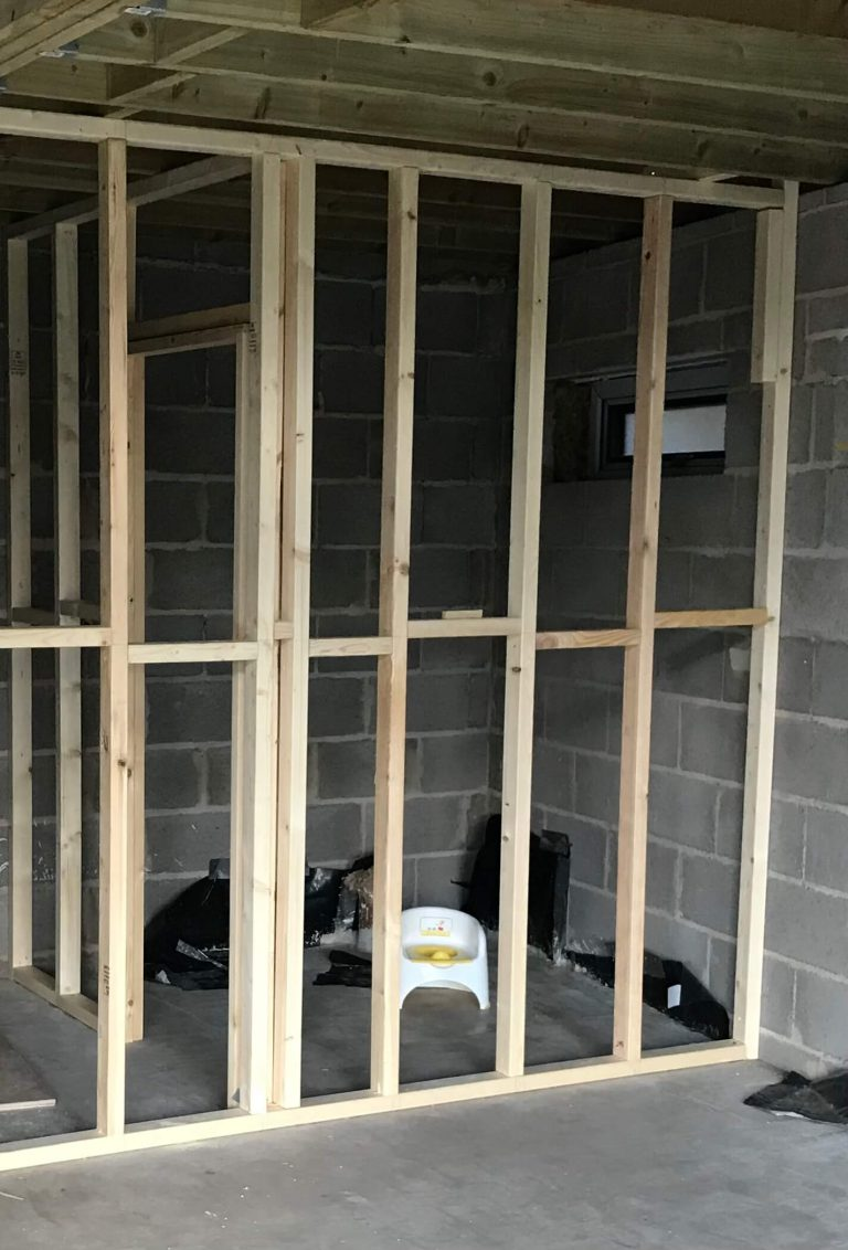 Small Shower Room Design - before image
